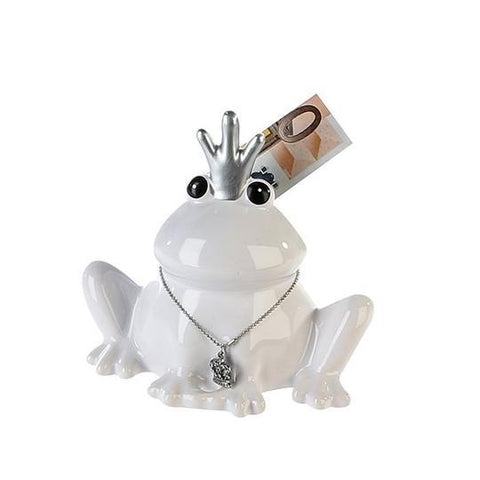 Frog with Crown Money Bank £4.90