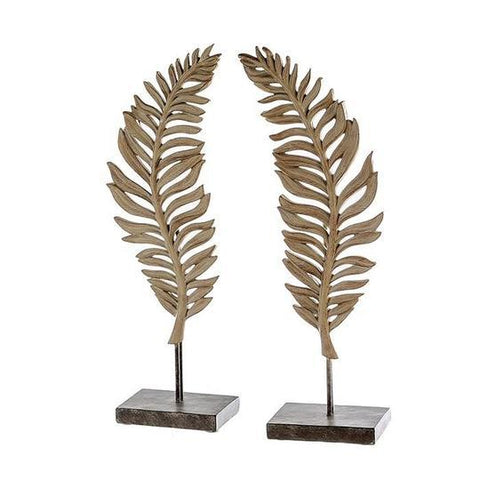 Large Leaf Sculpture Brown £21.95