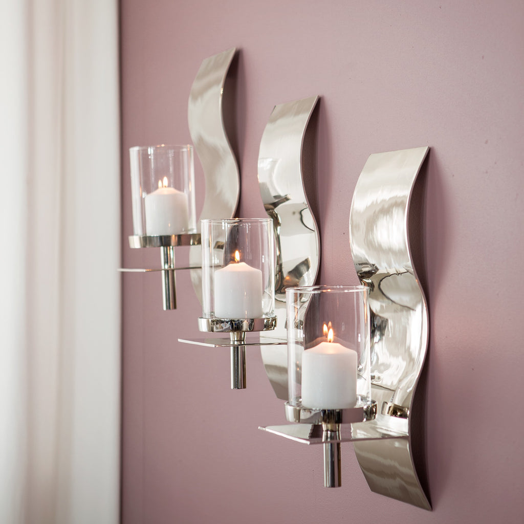 """Manhatten"" Large Luxury Wall Sconce £69"