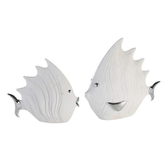 Large White Fish Silver Details £21