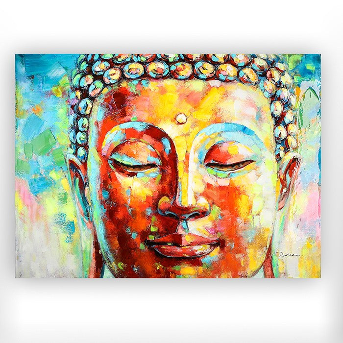 Buddha Head Canvas Picture £135