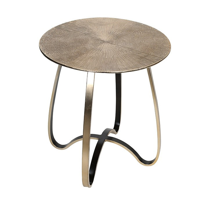 Curve Gold Side Table £119