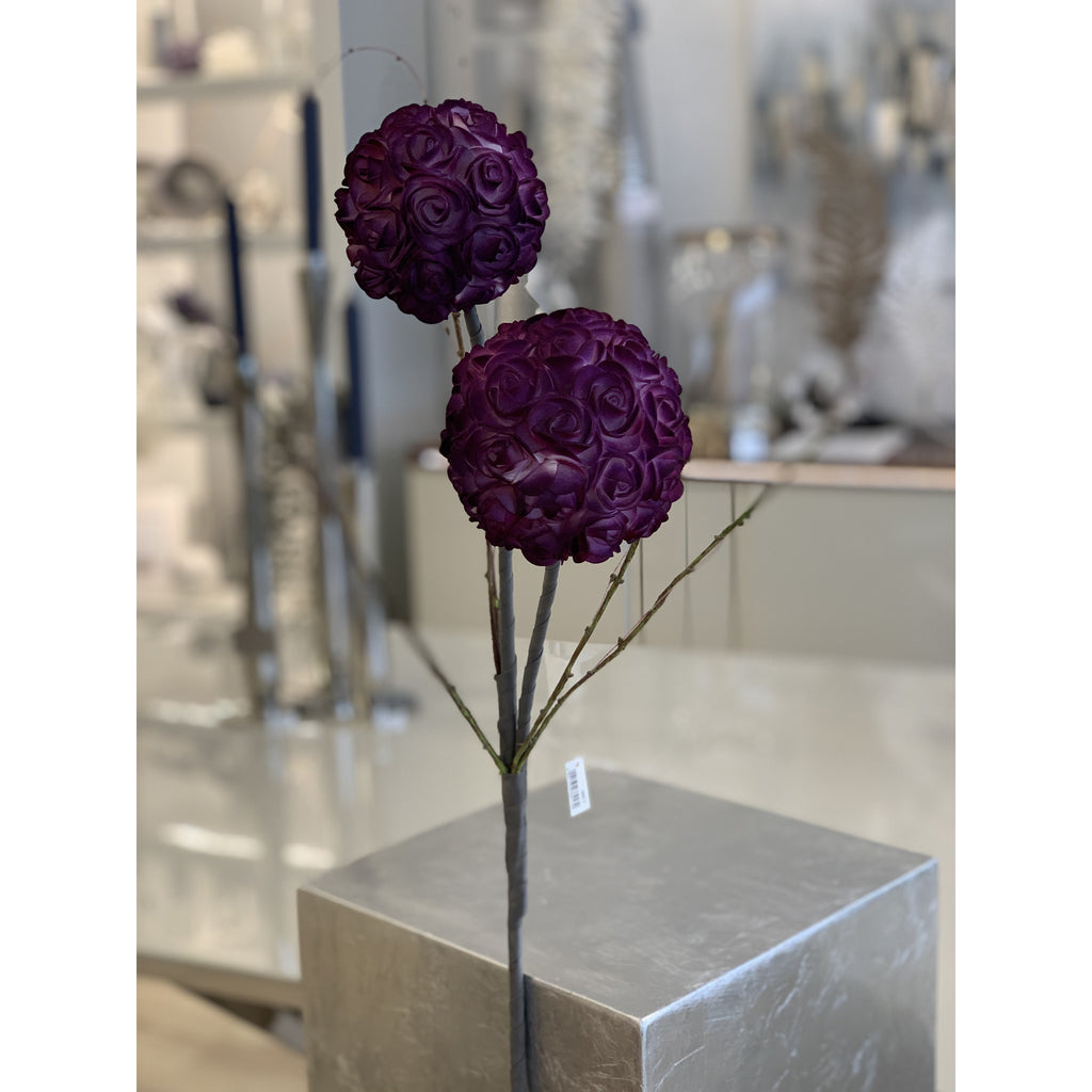 """Couture"" Ball Violet/Grey Stem £8.95"