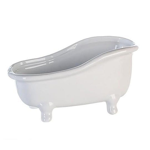 Ceramic White Bathtub Product Holder £7.60