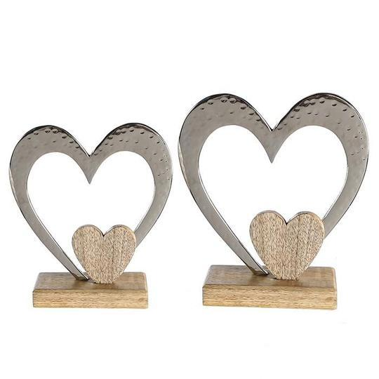 """Pristine""  small Heart Sculpture £8.75"