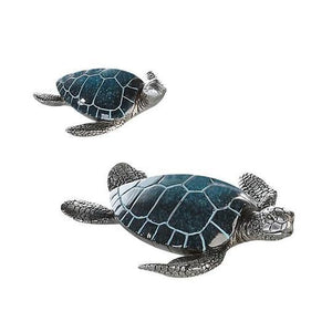 """Flossy"" Vibrant Turtle Blue Large £7.95 In Stock"