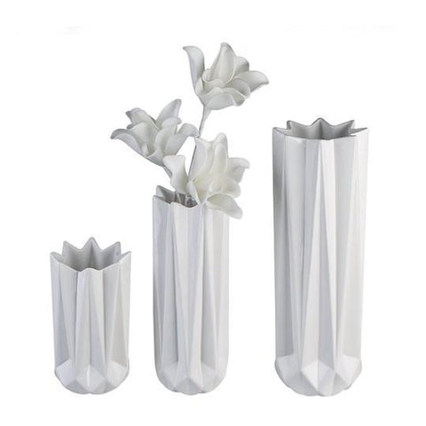Blush Medium white Vase £7.40