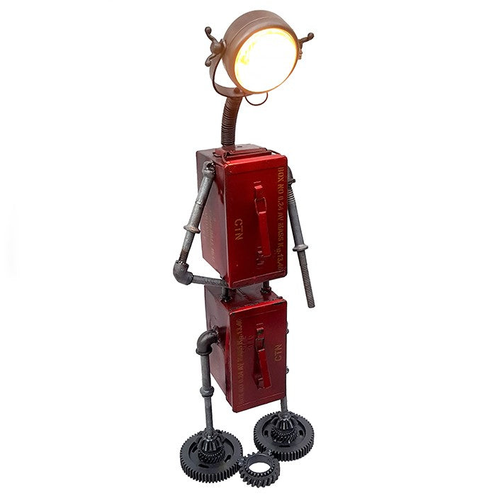 """Big Red Robot"" Floor Lamp £179"