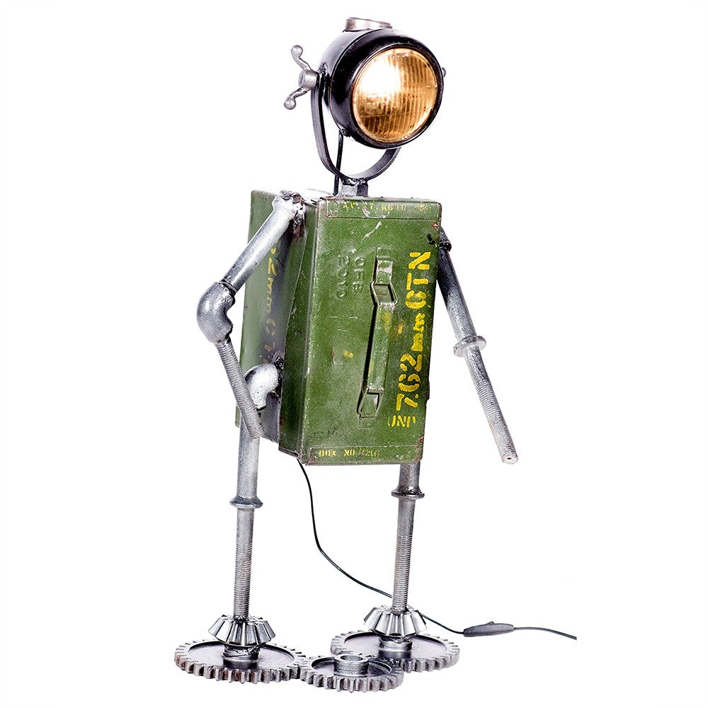 """Robbie Robot"" Table Lamp £89.95"
