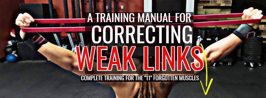 A TRAINING MANUAL FOR CORRECTING WEAK LINKS