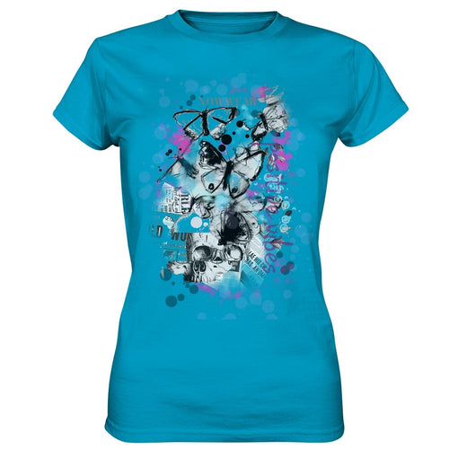 Butterfly T-Shirt - Ladies Premium Shirt - noWWear by Pink Tattoo