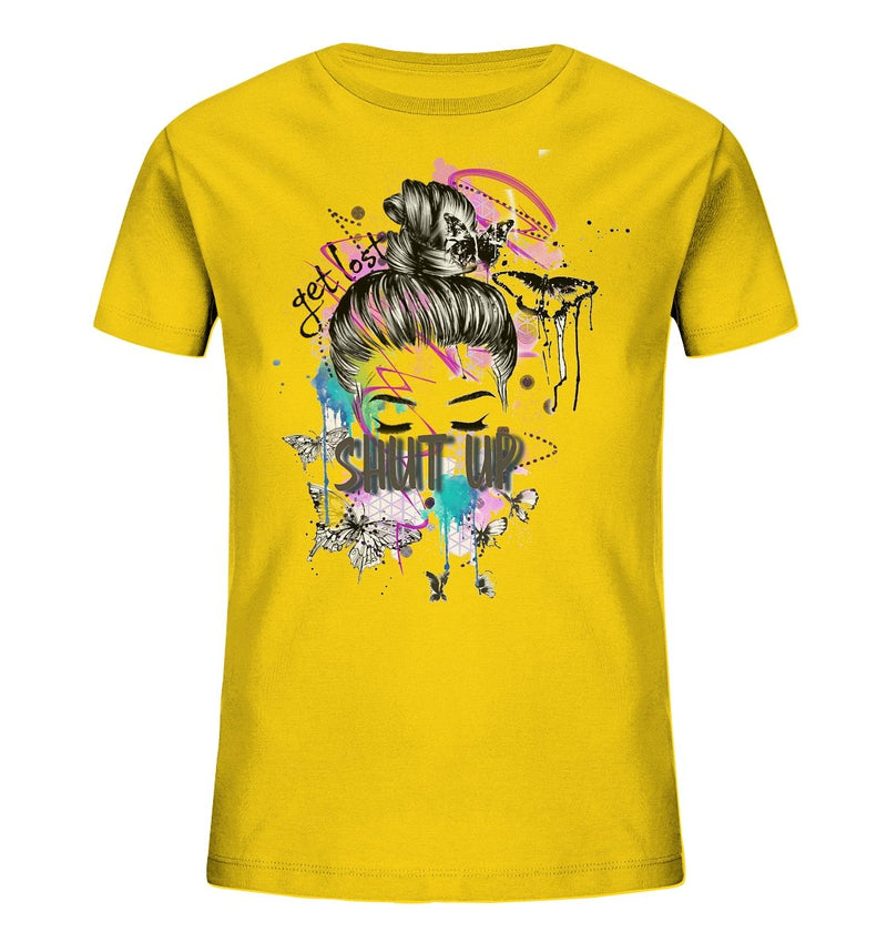 Shut Up Kinder Shirt - Kids Organic Shirt - noWWear by Pink Tattoo