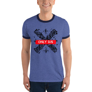 ONLY DJs - Ringer T-Shirt