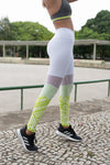 Neon- White Legging