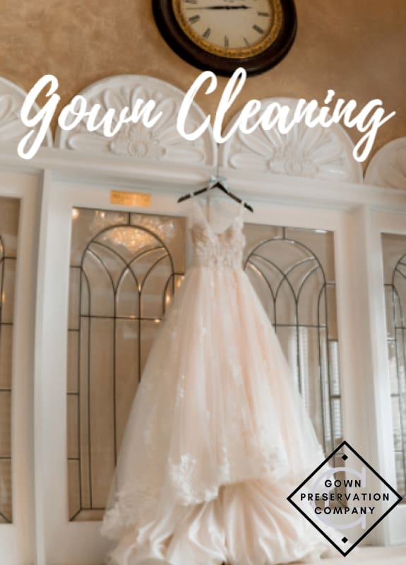 Wedding Gown Cleaning & Press Only (No Preservation) Preservation Services