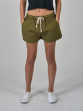 Carousel Essentials Relaxed Short in Khaki