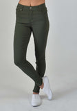 Carousel Essentials Super Stretch Jean in Khaki