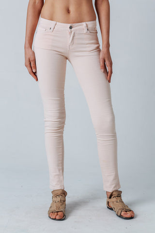 Carousel Essentials Brushed Khaki Straight Leg Jean