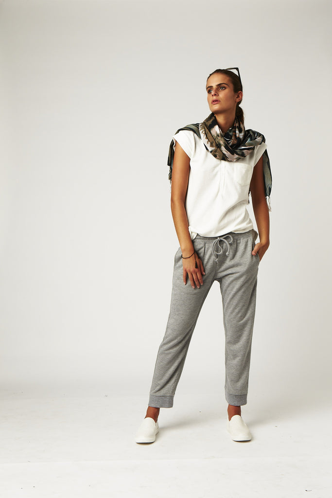 Carousel Essentials Tracksuit Pant In Grey