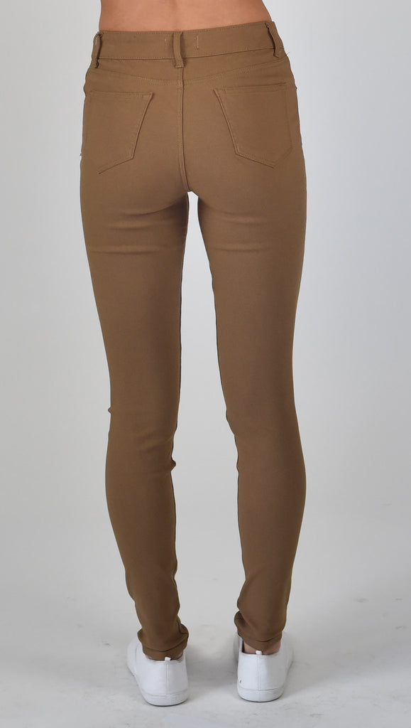 Carousel essentials Super Stretch Jean in Camel