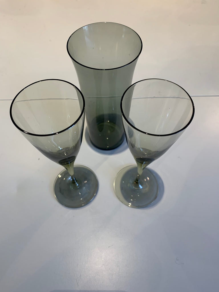 Carousel Glassware - Set of 3