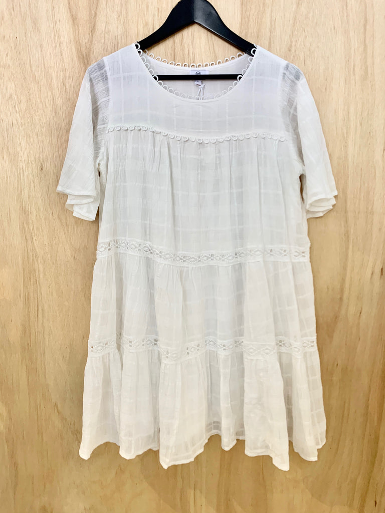 Willow White Dress
