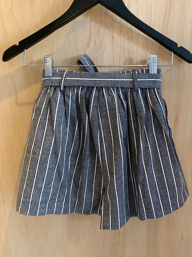 Striped Candy Shorts - Black