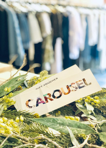 Carousel Essentials Sailor Denim Pencil Skirt