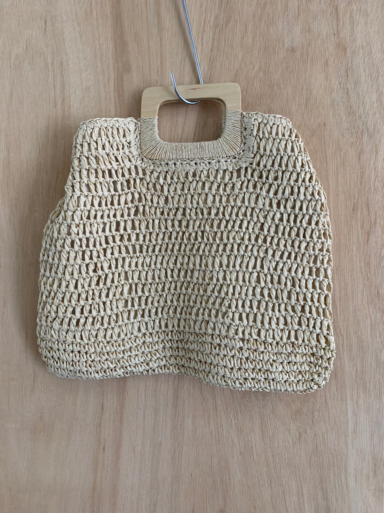 Label Of Love Straw bag