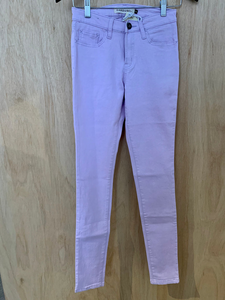 Ice-Cream Pastel Lilac Jeans