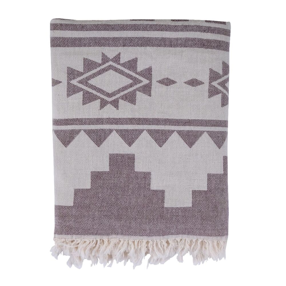 Loom Towel Bordeaux