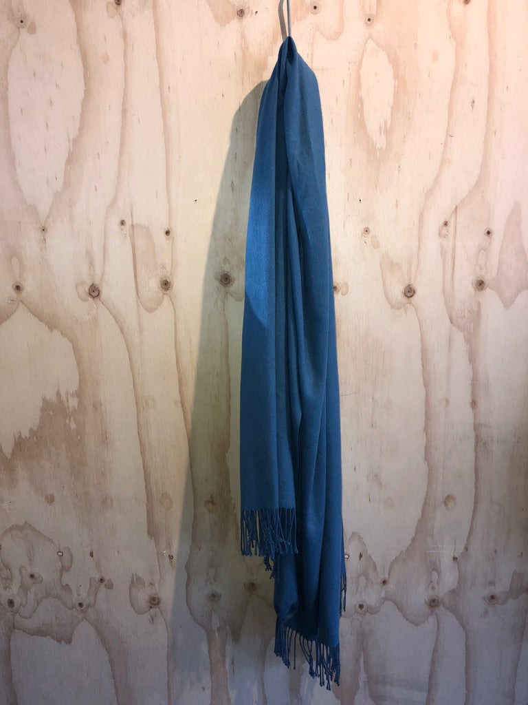 Cashmere Scarf in Blue