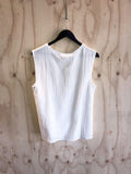 Carousel Essentials Slouch Tank in White