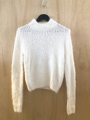 Tan turtle neck knit
