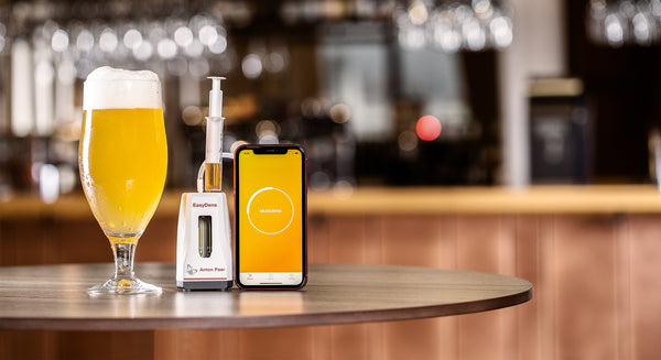 EasyDens is a Smart Hydrometer for Homebrewers with a free Mobile App