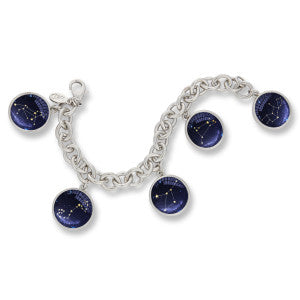 The Winky&Dutch Charm Braceletin one of our newest artwork , the Zodiac Constellations