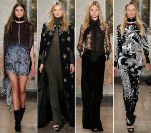 Expressions of the Zodiac in the Emilio Pucci Fall '15 Collection