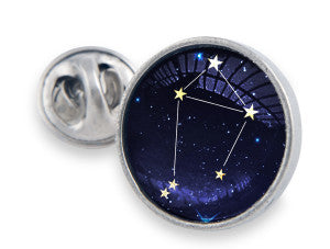The Tac Pin meets a gorgeous starry night sign of the zodiac.