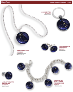 The Zodiac Constellation Collection designed by Winky&Dutch and shown in  classic Winky&Dutch American-made accessories.