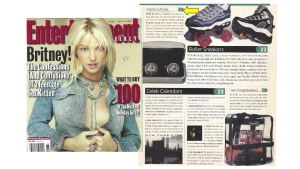 Mix equal parts Winky&Dutch, Entertainment Weekly, Britney Spears, and 100 Hot Gifts and you get, The Winky&Dutch Throwback Thursday MOMENT (a.k.a. #TBT)