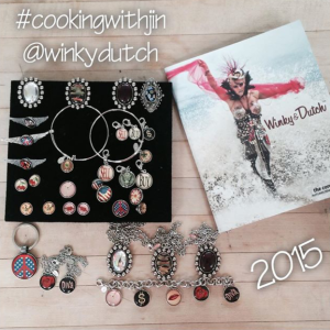 """Winky&Dutch will provides accessories and jewelry worn by Jin on """"Cooking With Jin."""""""