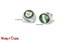 State your feelings on your state with the Signet  or Band ring