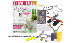 Country Living April 2001 The Flea Market Decorating Issue.
