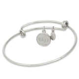 Handcrafted USA Adjustable Band Charm Bangle Bracelet