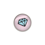 Cute Diamond Bling Sew On Button | Handcrafted USA