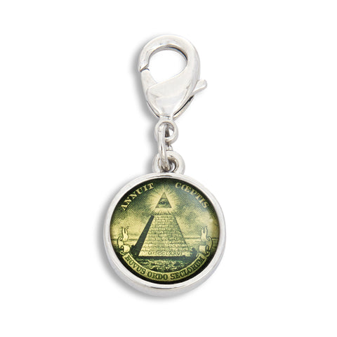 Charm featuring Dollar Pyramid