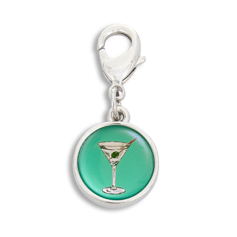 Charm featuring Martini Blue