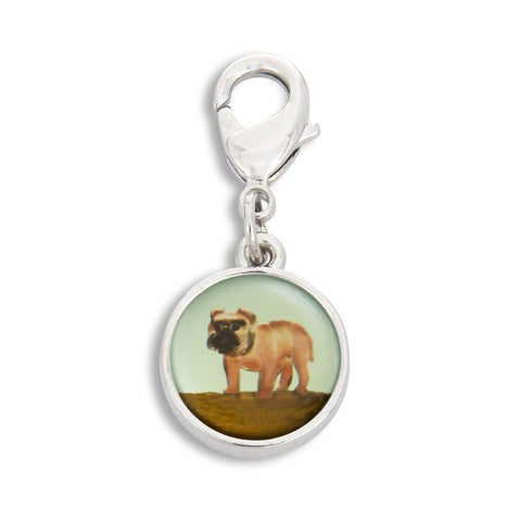 Charm featuring Painted Pug