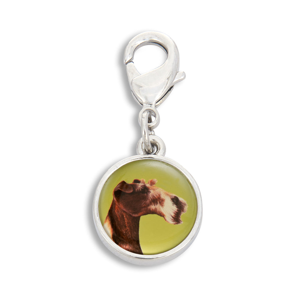 Charm featuring Foxhair Terrier