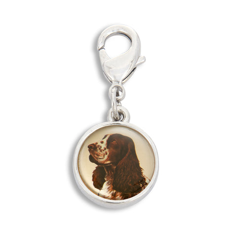 Charm featuring Springer Spaniel